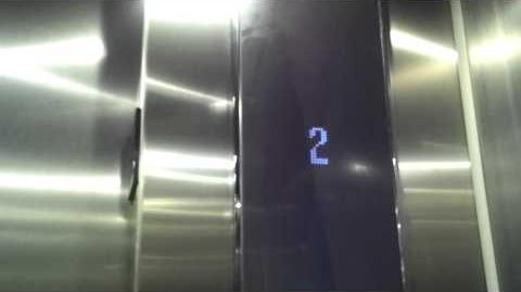 New Kone KSS D20 Traction Elevator at Palladium in Richmond, TX