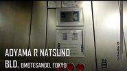 Schindler Elevator at Aoyama R Natsuno Building, Omotesando, Tokyo
