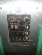 1970s Mitsubishi Freight inspection switches
