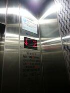 ThyssenKrupp STEP floor indicator