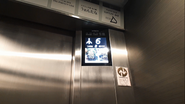 Hitachi BlackLCD CarIndicator Sapporo
