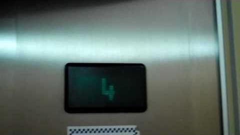 Otis Square-Coloured-Lexan Traction elevators @ 171-179 Queen St, Campbelltown