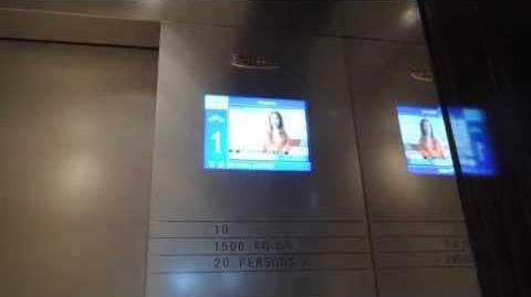 觀塘創紀之城六期Fujitec高速升降機