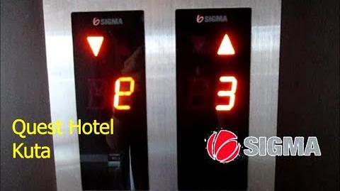 Sigma_Traction_Elevators_at_Quest_Hotel_Kuta,_Bali
