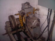 Elevator Motor Unit