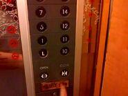 GoldStar floor buttons Hotel Ciputra Jakarta 2