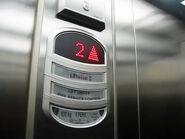 Orona LED floor indicator