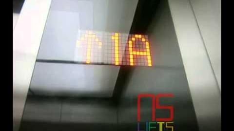 Jakarta - Mall of Indonesia Shanghai Mitsubishi Traction Elevator