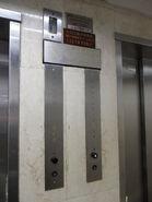 1980 Otis floor Hall HK