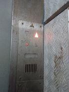 1991 Mitsubishi analog floor indicator hydraulic elevators HK