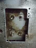 1960s Mitsubishi Freight inspection switches.
