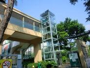 Kone EcoDisc@Hong Kong Central Library Footbridge