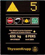 ThyssenKrupp Focus Indicator