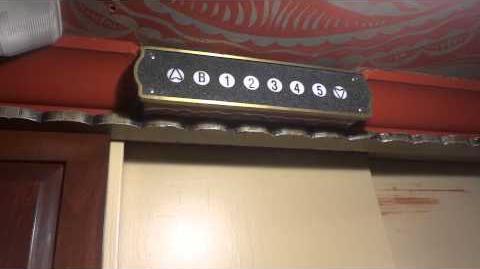 Vintage Otis (modded by CJ Anderson) Traction Elevators @ the La Fonda Hotel in Santa Fe, NM-0