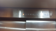 Hitachi 80s CarFloorIndicator CityComplex