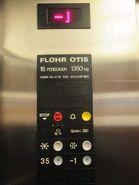 1972 Flohr Otis System 260 car station DE