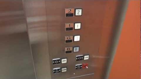 Original Montgomery G&P Hydraulic Elevator @ UW School of Social Work Bldg