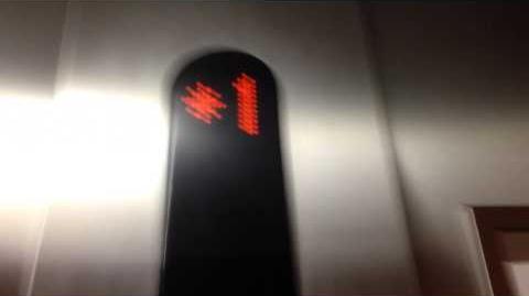 Circa 2006 Kone Traction Elevator at SJSU Tower Hall in San Jose, CA