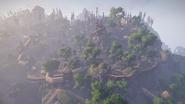 Goliet widok z góry