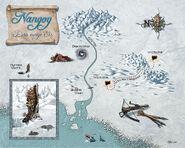 Karte Nangog Ewige Eis