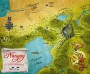 Karte Nangog
