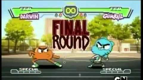 El increible mundo de gumball pelea darwin vs gumball-0