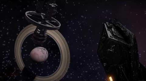 Elite Dangerous - timelapse Jaques Station in Colonia with Asp Explorer