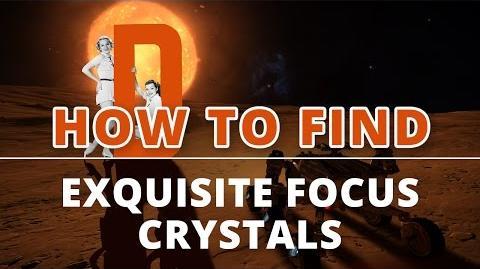 Elite Dangerous - How to Find Exquisite Focus Crystals?
