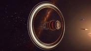 Long-exposure-Orbis-station