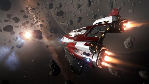 07 Полеты в астероидном поясе