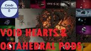 Empyrean Void Hearts and Octahedral Pods - Codex Tour