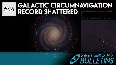 Sagittarius Eye Bulletin - Galactic Circumnavigation Record Shattered