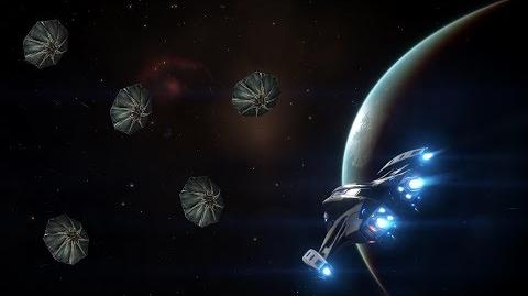 Imperial Courier v Thargoid scouts Flight Assist Off