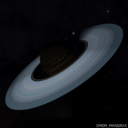 Gas giant with ammonia based life