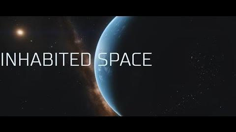 "Elite Dangerous - ""Inhabited space"" - Elite Dangerous Short cinematic video"