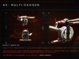 AX Multi-cannon