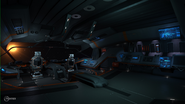 Elite Dangerous Python interior