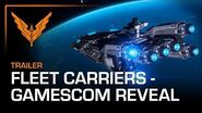 Elite Dangerous Fleet Carrier Gamescom Reveal