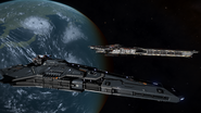 FCorvette in space