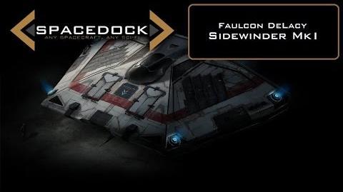 Elite Dangerous Sidewinder Mk1 - Spacedock