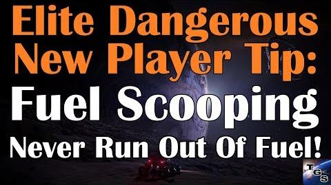 Never Run Out Of Fuel Again! Fuel Scooping Elite Dangerous Tip (2017)