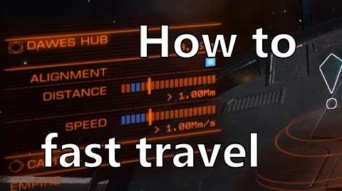 Elite Dangerous Tutorial Fast Supercruise Travel