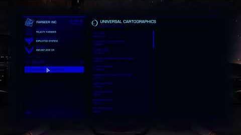 Elite Dangerous Universal Cartographics Theme