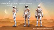Supratech Artemis explorer suit