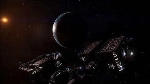 Elite Dangerous - Outpost around Earth-like world