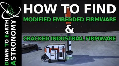 HOW TO FIND MODIFIED EMBEDDED FIRMWARE AND CRACKED INDUSTRIAL FIMWARE IN ELITE DANGEROUS