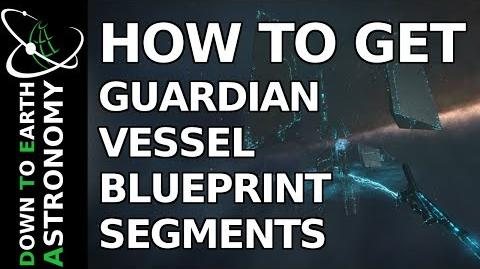 How to get Guardian Vessel Blueprint Segments Elite Dangerous