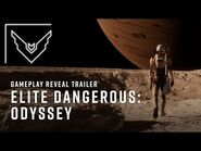 Elite Dangerous- Odyssey Gameplay Reveal Trailer