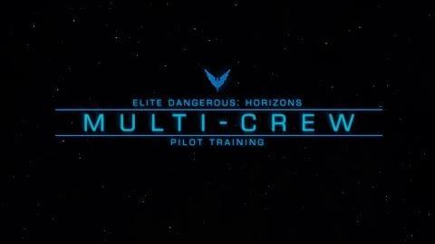 Pilot Training - Multicrew - Elite Dangerous Horizons