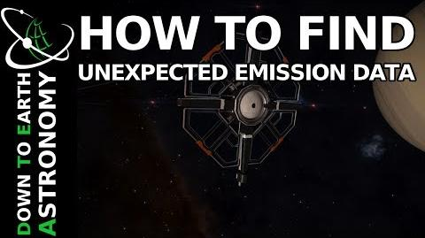 HOW TO FIND UNEXPECTED EMISSION DATA ELITE DANGEROUS